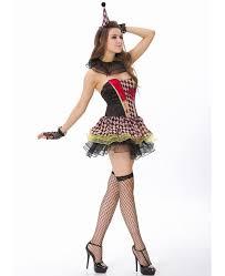 Killer Nurse Halloween Costume Zombie Circus Clown Costume N8615