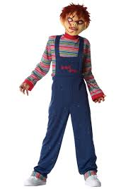 scary costumes for kids chucky child costume children s scary costumes