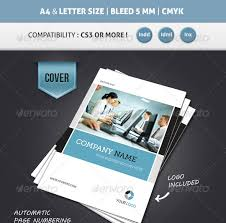 corporate brochure template a4 u0026 letter 12 pages startupstacks com