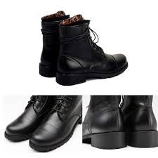 mens motorcycle style boots aliexpress com buy tiding genuine leather short boots men