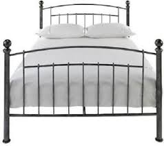 Bed Frame Squeaking Iceland Wrought Iron Bed Frame 4ft6 Antique Pewter Solid