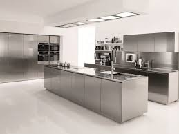 Stainless Steel Kitchen Cabinet Stainless Steel Kitchen Cabinets Ikea Built In Dining Table Golden