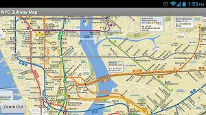 New York Bus Map by Use Nyc Subway Map Apps To Navigate The Underground The Gotham Scene
