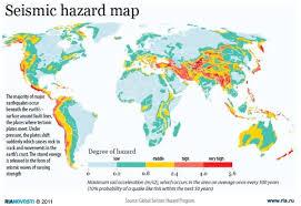 earthquake hazard map emergency response and planning news earthquake preparedness