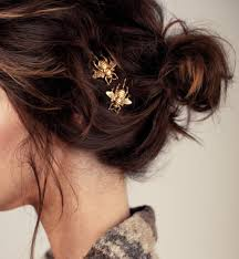 decorative bobby pins etsy accessories gold golden bee etsy finds hair accessories