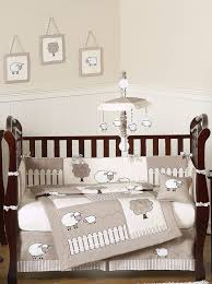 Infant Crib Bedding Baby Bedding 9pc Neutral Crib Set By Sweet Jojo Designs