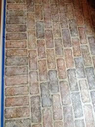 24 best faux brick floors images on faux brick homes
