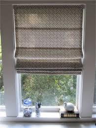 Roman Shade Hardware Kits - cup half full diy roman shade just fabric rings and string no
