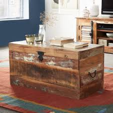 coffee tables astonishing small distressed trunk coffee table