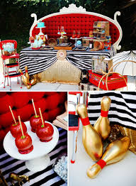 Circus Candy Buffet Ideas by Retro Circus Baby Shower The Amazing Expanding Woman Babies And
