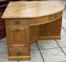 large corner desk a large golden oak corner desk antiques atlas