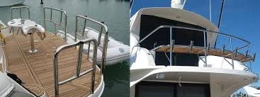 Stainless Steel Boat Handrails Balustrades Handrails Pool Fences Marine Stainless Steel