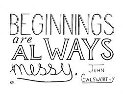 Wedding Quotes Journey Messy Beginnings Quote Nursery Art Nursery Wall Art Baby Quote