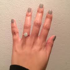help what nail color would go best with a white and rose gold