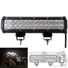 Led Vehicle Light Bar by 12inch 72w Cree Led Light Bar Spot Flood Combo Beam Offroad Light