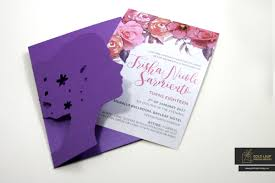 Debut Invitation Card Gold Leaf Printing Services Manila Philippines