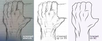deke u0027s techniques 336 drawing a clenched hand in illustrator