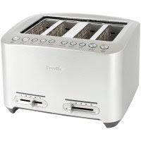 Breville Die Cast Smart Toaster Breville A Bit More 4 Slice Toaster Sur La Table