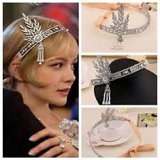 gatsby headband bridal great gatsby 1920s vintage style headpiece pearls