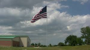Country American Flag Hidef Giant American Flag In Country Club Hills Ill God Bless