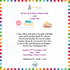 preloved ladies clothing sale u0026 craft fair q radio