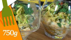 750 grammes recette de cuisine recette de verrines de courgettes 750 grammes