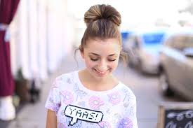 create a double fan bun in less than 2 minutes cute girls