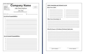 best photos of job descriptions and duties template free job