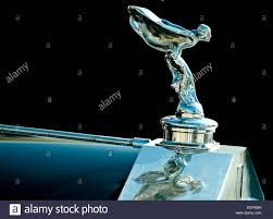 the spirit of ecstasy is the name of the bonnet ornament on rolls