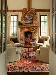 How To Decorate A Living Room With A Red Brick Fireplace Creative Red Brick Living Room Inspirational Home Decorating Top