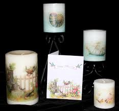 Personalize Candles Diy Candle Decorating