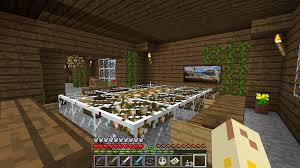 Minecraft Dining Table D Nik U0027s Day My Awesome Minecraft House