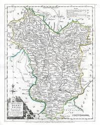 Derbyshire England Map by Jonathan Potter Map A Modern Map Of Derbyshire Drawn From The