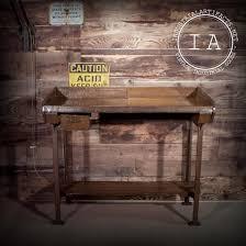 kitchen island leg vintage industrial cast iron leg factory desk steunk kitchen