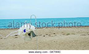 wedding arches coast wedding arch on the coast of sea stock photo royalty free image