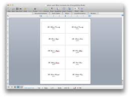 folded table place cards how to create place cards in word coles thecolossus co