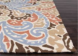 Jaipur Outdoor Rugs Flores Indoor Outdoor Rug In Blue And By Jaipur Rugs