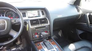 Audi Q7 Inside 2009 Audi Q7 Bright Silver Stock K1401491 Interior Youtube