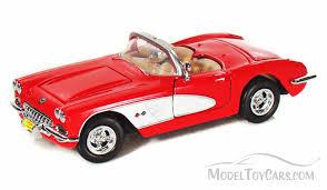 59 corvette convertible 1959 chevy corvette convertible motormax 73216 1 24 scale