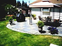 Backyard Ideas For Cheap Fresh Decoration Cheap Landscaping Ideas For Front Of House Photo