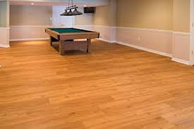 finished basement flooring products in troy commerce macomb