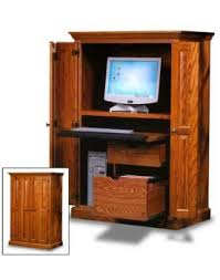 Amish Computer Armoire Office Computer Armoire Amish Office Furniture Sugar Plum Oak
