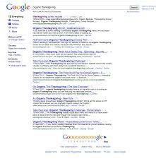 organic thanksgiving dinner gold coast internet marketing and web design
