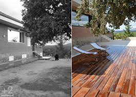 antes y después casa reformada diseñointerior design wood 2