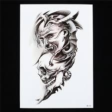 Halloween Skull Drawings Online Get Cheap Skull Demon Art Aliexpress Com Alibaba Group