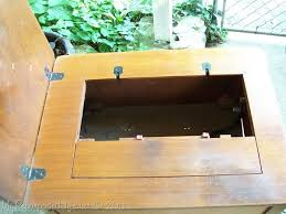 solid wood sewing machine cabinets helena a repurposed sewing cabinet my repurposed life