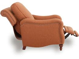 smith brothers living room pressback reclining chair 724 33