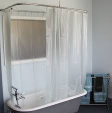 bathroom ideas with clawfoot tub bathroom simple clawfoot tub bathroom ideas with tulle curtain