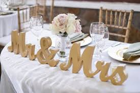 mr mrs sign for wedding table gold mr and mrs wedding sign table signs for by zcreatedesign
