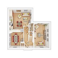 Walton House Floor Plan by 4 Bedroom Detached House Plot 168 In Walton Gate At 334 995